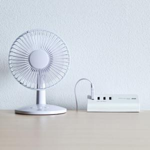 USB充電器 クランプ式 机固定 USB4ポート ホワイト(ACA-IP50W)(即納)|sanwadirect|12