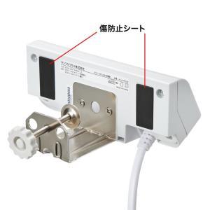 USB充電器 クランプ式 机固定 USB4ポート ホワイト(ACA-IP50W)(即納)|sanwadirect|10