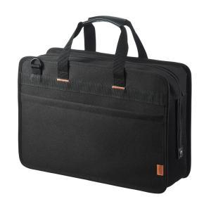 らくらくタブレットバッグ 5台収納 12.5インチ 鍵付き ブラック(BAG-BOX5BKN)(即納)|sanwadirect