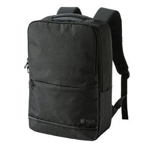 PCバックパック 15.6インチワイド カジュアル ブラック(BAG-BP16BK)(即納)|sanwadirect