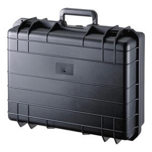 ハードケース バッグ PP樹脂製 密閉ダイヤル 鍵付き 18型ワイド対応(BAG-HD2)(即納)|sanwadirect