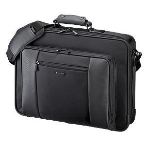 ビジネスバッグ 18インチ メンズ カバン 収納 鞄 取っ手 ショルダー(即納)|sanwadirect