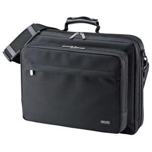 PCキャリングバッグ 15.6インチワイド シングル ブラック(BAG-U54BK2)(即納)|sanwadirect