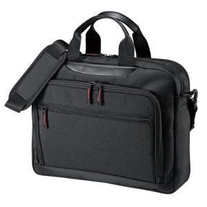 マチ拡張PCバッグ 14.1型ワイド対応 ブラック(BAG-W1BKN)(即納)|sanwadirect|12