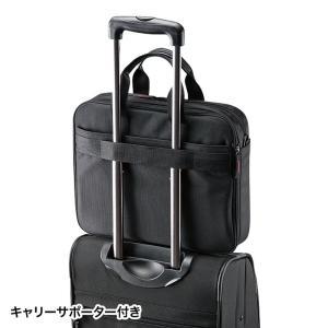 マチ拡張PCバッグ 14.1型ワイド対応 ブラック(BAG-W1BKN)(即納)|sanwadirect|09