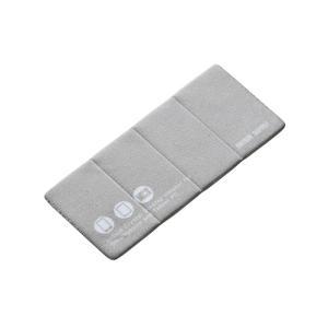 iPhone スマホのクリーナー スタンド機能付き ぴたっとクロス 小サイズ グレー(CD-CCST3GY)|sanwadirect