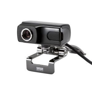 WEBカメラ 高画質500万画素 ブラック(CMS-V40BK)(即納)|sanwadirect