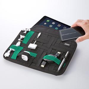 インナーケース iPad Air 対応 タブレット ケース カバー Cocoon ガジェット 収納 10インチ GRID-IT バッグインバッグ(即納)|sanwadirect|03