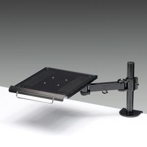 モニターアーム スタンド PCスタンド ノート パソコン台 (CR-LANPC1)(即納)|sanwadirect