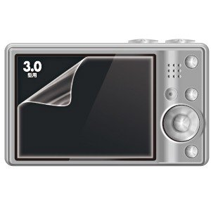 デジカメ 液晶保護フィルム 3.0インチ (DG-LC9)(即納)|sanwadirect