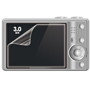 デジカメ 液晶光沢保護フィルム 3.0インチ (DG-LCK...