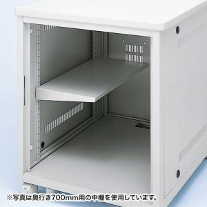 サーバーラック ED-CPシリーズ用 中棚 ハーフ(ED-CPN60L)|sanwadirect