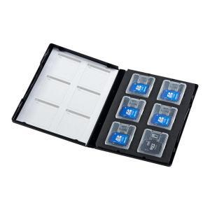 マイクロSD ケース microSD メディアケース(DVDトールケース型 クリアケース収納タイプ)(FC-MMC16SDM)(即納)|sanwadirect