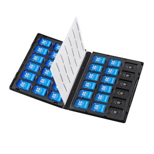 SD microSDケース DVDトールケース型 合計72枚収納(FC-MMC25SDM)(即納)|sanwadirect