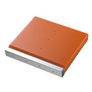 SD 12枚+マイクロSD 12枚収納 SDカードケース 大容量なのにコンパクトな メディア ケース オレンジ(FC-MMC4D)|sanwadirect