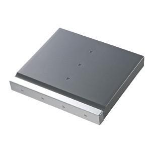 SD 12枚+マイクロSD 12枚収納 SDカードケース 大容量なのにコンパクトな メディア ケース グレー(FC-MMC4GY)(即納)|sanwadirect