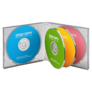 DVD CDケース 6枚収納 3枚セット ブラック(FCD-61BKN)(即納)|sanwadirect