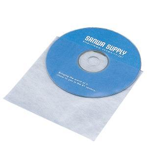 DVD CD用不織布ケース 1枚収納 50枚セット(FCD-F50)(即納) sanwadirect