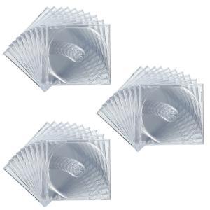 CDケース DVDケース プラケース 30個セット 厚さ10mm クリア ジュエルケース Pケース 収納ケース メディアケース [FCD-PN30C](即納)|sanwadirect
