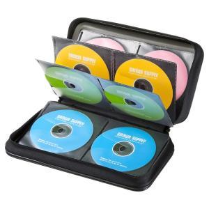 DVD CDセミハードケース 96枚収納 ブラック(FCD-WL96BK)(即納)|sanwadirect