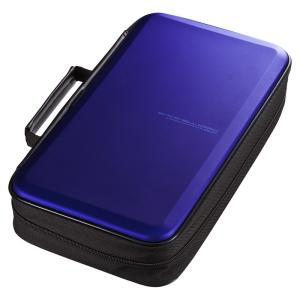 ブルーレイディスク対応セミハードケース 104枚収納 ブルー(FCD-WLBD104BL)(即納)|sanwadirect