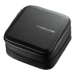 サンワサプライ セミハードケース BD/CD/DVD対応 60枚収納 EVA ブラック(FCD-WLBD60BK)