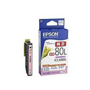 ICLM80L EPSON エプソン IC80 IC80L 純正 インクカートリッジ 増量 ライトマゼンタ(即納)|sanwadirect