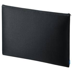 マルチクッションケース 17.3型対応 ブラック(IN-C7)(即納)|sanwadirect