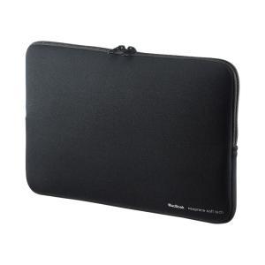インナーケース MacBook Air11.6インチ用 インナーケース ブラック(IN-MACAR11BK)(即納)|sanwadirect