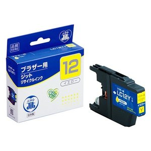 LC12Y ブラザー リサイクル インク カートリッジ(JIT-B12Y)(即納) sanwadirect