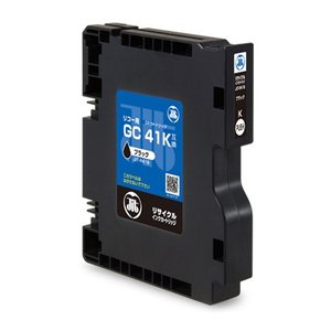 GC41K リコー リサイクルインクカートリッジ ブラック(JIT-R41B)(即納)|sanwadirect|02