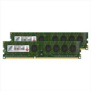 Transcend デスクトップPC用増設メモリ 4GB(2GB×2) DDR3-1600 PC3-12800 DIMM トランセンド 永久保証(JM1600KLN-4GK)|sanwadirect