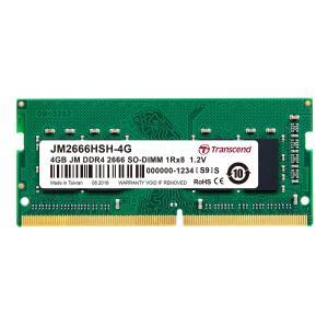 増設メモリ ノートPC用 4GB DDR4-2666 PC4-21300 SO-DIMM JM2666HSH-4G Transcend|sanwadirect