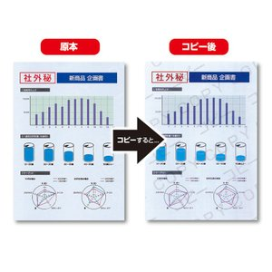 コピー偽造防止用紙 A4 100シート(JP-MTCBA4)(即納)|sanwadirect