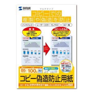コピー偽造防止用紙 B5 100シート(JP-MTCBB5)(即納) sanwadirect 04