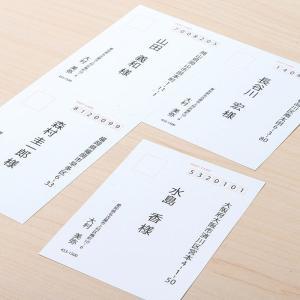 マルチはがき 郵便番号枠あり 4面 A4サイズ 200枚入り(JP-MTHK01A4-200)(即納) sanwadirect