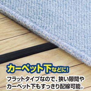 フラットHDMIケーブル 10m ブラック(KM-HD20-100FK)(即納)|sanwadirect|04