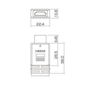 フラットHDMIケーブル 10m ブラック(KM-HD20-100FK)(即納)|sanwadirect|05