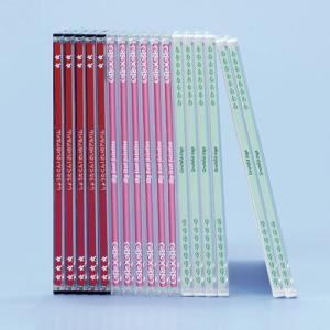 CDラベル DVDラベル プラケース用背ラベル 100枚(LB-INDGK5)(即納)|sanwadirect