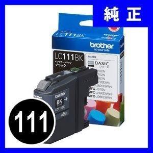LC111BK ブラザー インクカートリッジ ブラック 111 純正(LC111BK) sanwadirect