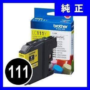 LC111Y ブラザー インクカートリッジ イエロー 111 純正(LC111Y) sanwadirect