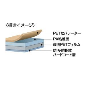 iPad2用指紋防止光沢液晶保護フィルム(LCD-IPAD2KFPF)(即納)|sanwadirect|02