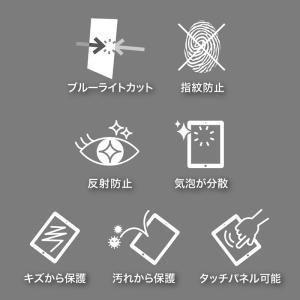 9.7インチ iPad Pro用フィルム ブルーライトカット 液晶保護 指紋防止 反射防止(LCD-IPAD7BCAR)(即納) sanwadirect 03