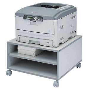 プリンター台 プリンタースタンド ボックスタイプ レーザープリンター用(LPS-T103K) sanwadirect 05
