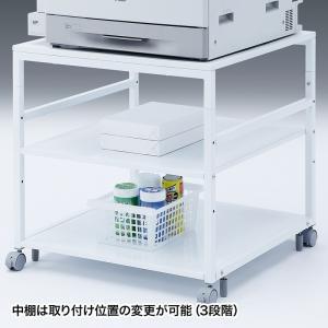 プリンタスタンド W700×D700×H700mm(LPS-T7070)(即納) sanwadirect 06