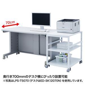 プリンタスタンド W700×D700×H700mm(LPS-T7070)(即納) sanwadirect 10