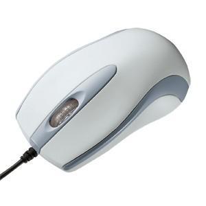 マウス 光学式マウス 中型マウス ライトグレー(MA-113HU)(即納) sanwadirect