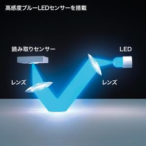 Bluetooth3.0 ブルーLEDマウス ブラック(MA-BTBL27BK)(即納)|sanwadirect|04