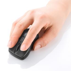 Bluetooth3.0 ブルーLEDマウス ブラック(MA-BTBL27BK)(即納)|sanwadirect|05