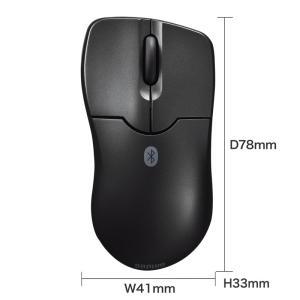 Bluetooth3.0 ブルーLEDマウス ブラック(MA-BTBL27BK)(即納)|sanwadirect|09